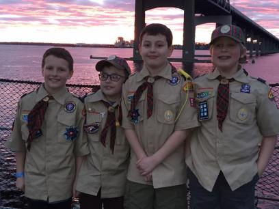 Webelos - our senior scouts!
