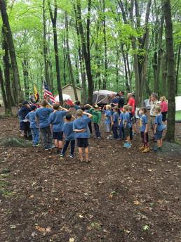2017_CubScoutCampSayer_FlagCeremony