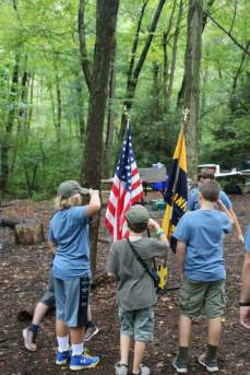 Camp Sayre Flags