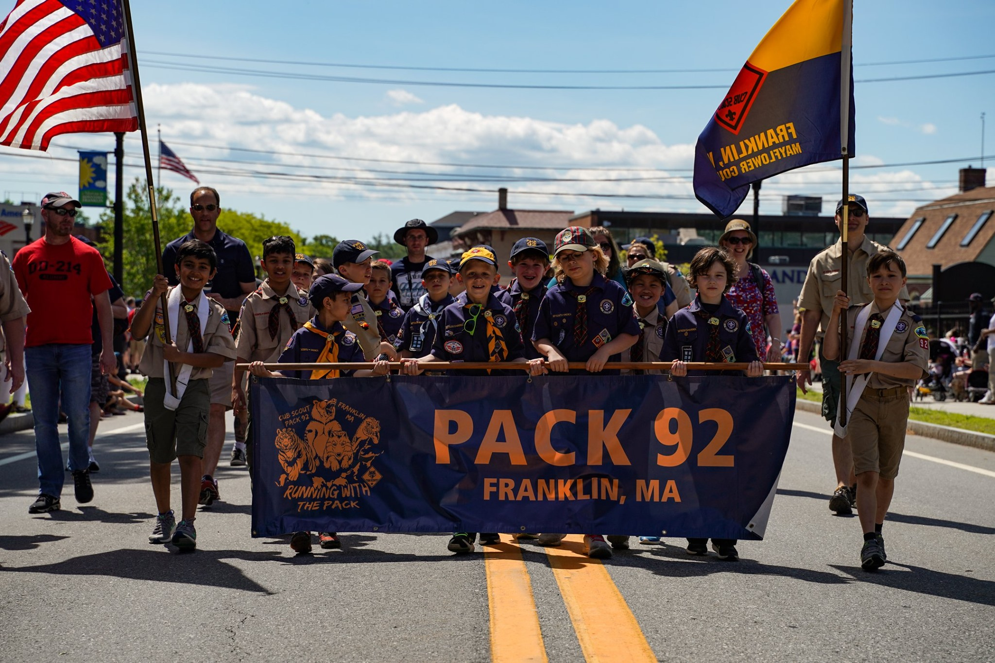 Pack 92 Parade